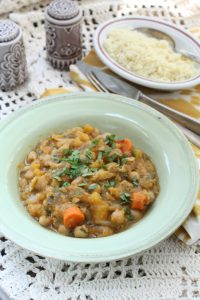 Moroccan Couscous with Winter Squash