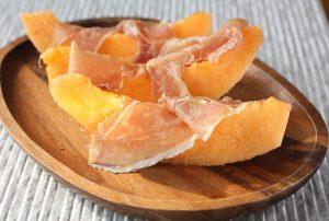 Melon with Prosciutto Di Parma