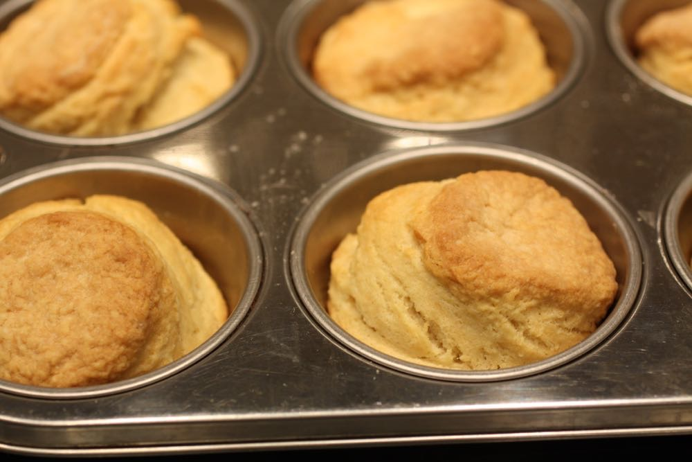 Biscuits, nice and golden