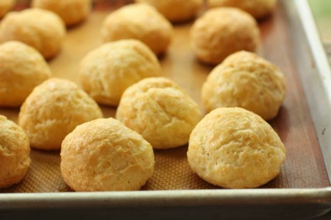 French Cheese Puffs